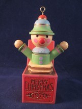 Hallmark 1977 Yesteryear' Tree Trimmer Jack In The Box Ornament No Box - $20.00