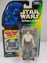 Star Wars Power Of The Force - Han Solo in Carbonite (Green Card) - Kenner 1996 - $8.00