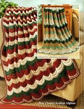 Best of Herrschners 2-ply Afghans Vintage Ripple, Scallop, Southwest, Ir... - $5.95
