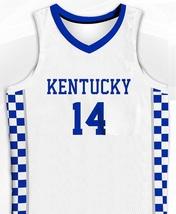 Tyler Herro Kentucky Wildcats White College Jersey Any Size Free Wwjd Bracelet - $29.99