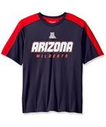 NCAA Arizona Wildcats Men's Impact Color Blocked T-Shirt, Medium, Navy - $15.95