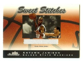 2003-04 Fleer Showcase - Sweet Stitches Game Worn Jersey - #SS-AJ Antawn... - $7.91