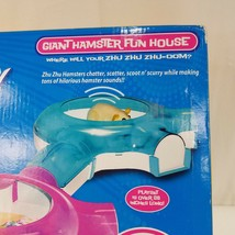 ZhuZhu Pets Giant Hamster Fun House Cepia 86630 Kitchen Bedroom Bathroom Tunnel - $23.64