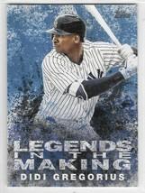 Didi Gregorius 2018 Legends in the Making Topps Baseball Card LITM-5 - $0.96