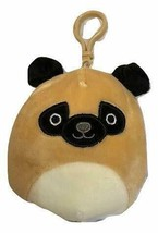 "Squishmallow Kellytoy 3.5 Inch Dog Clip On Keychain (3.5"" Prince The Pug) - $8.45"