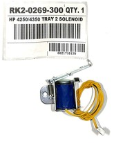 Genuine HP RK2-0269-300 Paper Pickup Solenoid Assembly for LJ 4250 4350 Tray 2 - $16.82
