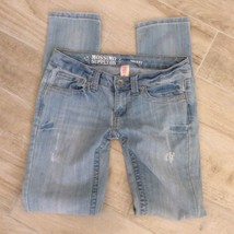Mossimo SKINNY RIPPED DENIM JEANS 3 - $30.00