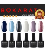 Bokarat Supper Set ~Snow White~ Soak Off UV LED Gel Nail Polish 7.3ml x ... - $21.99