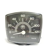 Best Quality Vespa Special Square Black Face Speedometer 0-120kmh - $41.56