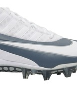 Nike Alpha Huarache 6 Pro LAX White Grey Lacrosse Cleats 904581-110 Size... - $39.96