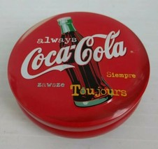 always Coca Cola Tin Canister Candle Siempre Zawsze Toujours - not used - $14.19