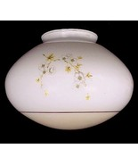 "Dogwood Blossom White Ceiling Fan Light Shade 4"" X 6 1/4 H X 8 1/2 W Flu... - $14.95"