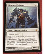 Mtg Magic Proxy 1x Blightsteel Colossus Blackcore Commander  - $5.40