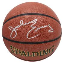 Julius Erving Signed Spalding NBA Indoor/Outdoor Basketball - SCHWARTZ - $395.01