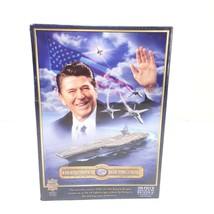 USS Ronald Reagan America's 40TH President 550 Piece JIGSAW Puzzle Seale... - $29.99