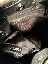 Fossil Genuine Leather Black Shoulder Purse 75082  ZB8023 VINTAGE  image 6