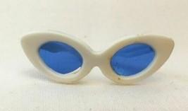 Vintage Barbie White Sunglasses w/ Blue Lenses 273-30 - $18.00