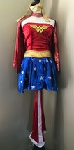 Justice Ligue Wonder Woman ADULTE S Déguisement Rubies Robe Cape Bottes ... - $19.24