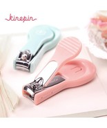 KINEPIN Stylish Nail Clipper Cutter Manicure Trimmer with Nail File Trim... - $6.95