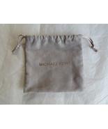 Michael Kors Drawstring Jewelry Bag Gray Silver NEW - $9.90