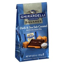 Ghirardelli Dark & Sea Salt Caramel Chocolate Squares, 5.32 oz - $9.90