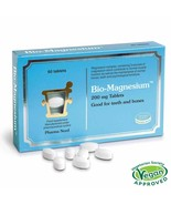 Bio-Magnesium - 60 Tablets normalise muscle & nervous functions Pharma ... - $17.12
