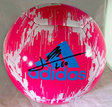 """LIONEL """"LEO"""" MESSI / AUTOGRAPHED ADIDAS GLIDER BRAND FULL SIZE SOCCER BALL / COA image 1"""