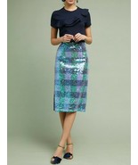 Anthropologie Sequined Palette Midi Skirt by Maeve - NWT - $119.99