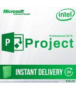 Project Professional 2016 - 32/64Bit Retail projectpro2016 INTEL - $25.99