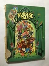 The Golden Book Of Nursery Tales (HC, 1948) Elsa Jane Werner Tibor No Ba... - $24.12