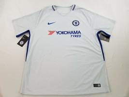 new Nike Chelsea FC BPL men shirt jersey BREATHE 905512 soccer blue XL M... - $44.99