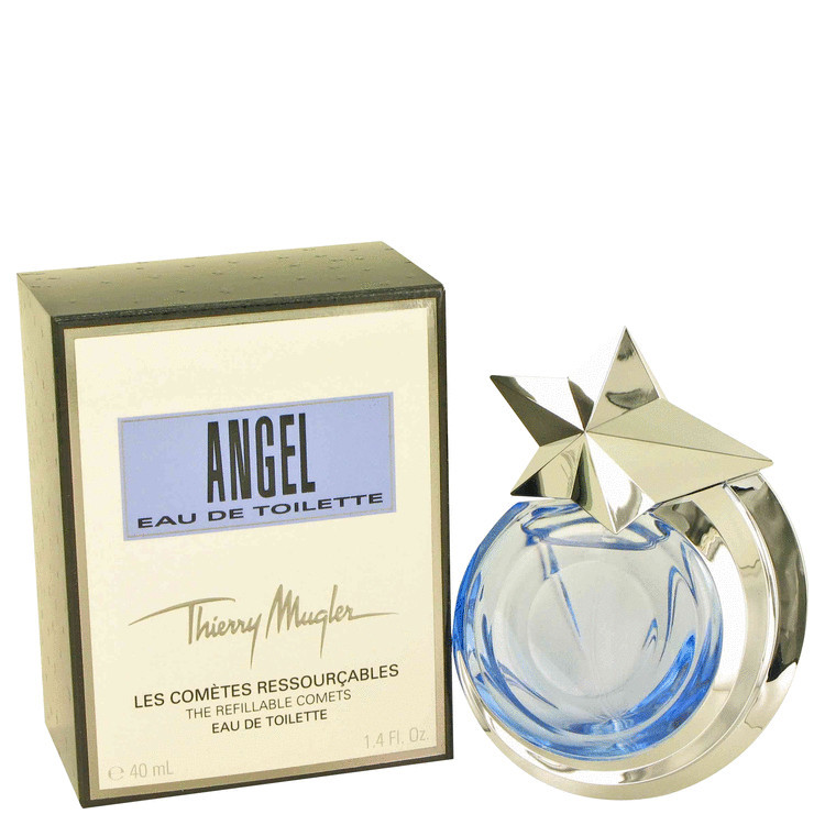 Thierry mugler angel 1.4 oz edt spray refillable