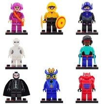 8pcs/set Disney Big Hero 6 Baymax Hiro Hamada Fred GoGo Tomago Lego Minifigures - $12.99