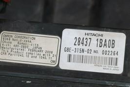 08-10 Infinti EX35 Adaptive Cruise Control Distance Sensor Radar 28437-1BA0B image 2