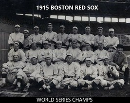 1915 Boston Red Sox 8X10 Team Photo Baseball Picture World Series Champs Mlb - $3.95