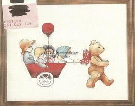 PRECIOUS CARGO Counted Cross Stitch Kit by Alma Lynne Janlynn #40-10 New - $9.47