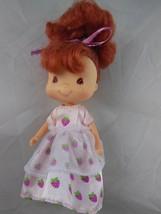 Strawberry Shortcake Doll In Original Dress 5 1/2 inch - $6.92