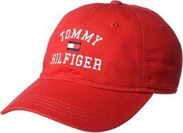 Tommy Hilfiger Men's Tommy Hat Embroidered Branding Logo Baseball Cap 6950130 image 8