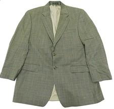 Lauren by Ralph Lauren 100% Wool Two Button Houndstooth Blazer Men's Siz... - $59.35