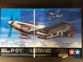 Tamiya 1/32 Nord Américain P-51d Mustang Modèle Kits - $317.02