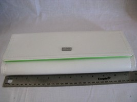 Authentic CHI Straightener Carrying Clutch - White & Lime Green - - $9.74