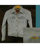 Levis Strauss Boy Girl Blue Denim Jacket Size XS Beatles Yellow Submarin... - $34.99