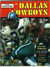 Dave Campbell's Dallas Cowboys 1970 Outlook Calvin Hill on Cover - $69.48