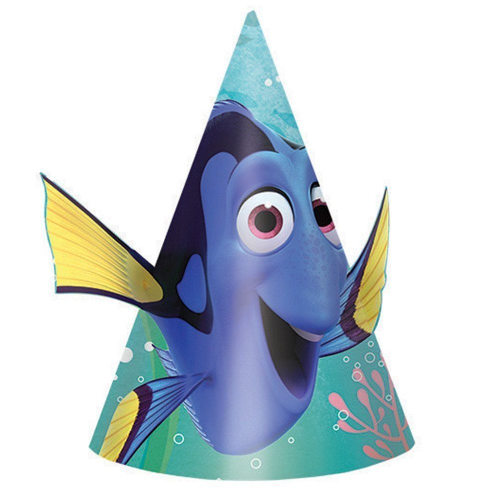 Finding Dory Party Hats , 8ct