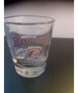 BALTIMORE RAVENS NFL FOOTBALL 2oz SPORTS  SHOT GLASS   - $5.90