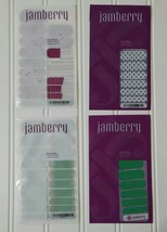 Jamberry Nail Wraps Lot PUPPY LOVE  ICED ICY PEONY POLKA  ARCADE - $12.99