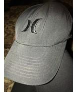 Hurley Nike Dri-Fit Lightly Distressed Baseball Hat Cap S M FlexFit Preo... - $14.20