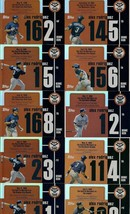 2007 Topps Baseball Road to 500 Alex Rodriguez Lot 13 different Home Runs - $14.00