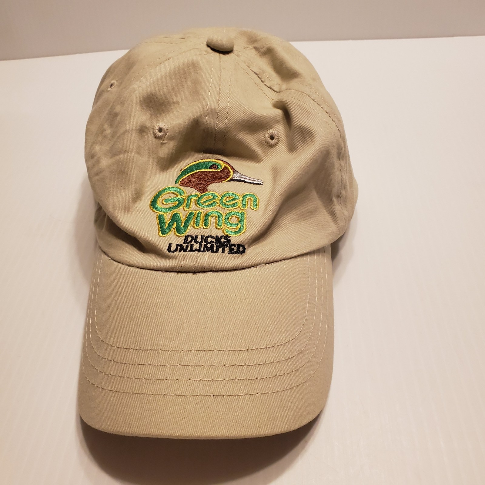 Green Wing Ducks Unlimited Adjustable Hat One Size Fits Most. Dorfman Pacific.   image 8