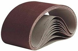 """Pearl Silverline Resin Cloth Belt A80 Grit 3"""" x 24"""" 10 Pack - $21.99"""